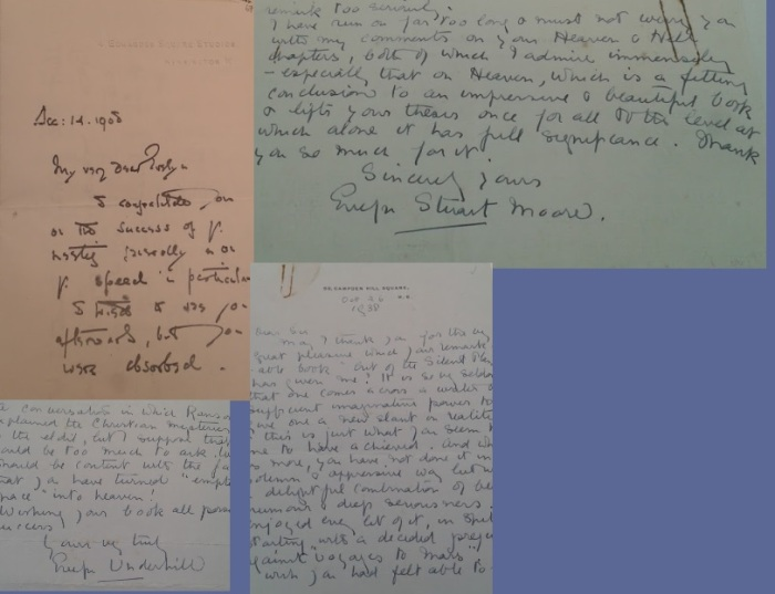 underhill sinclair letters